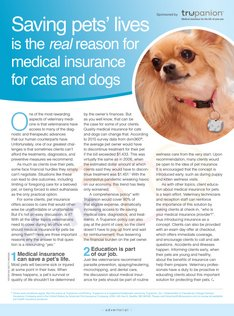 Saving Pet's Lives is the Real Reason for Medical Insurance for Cats and Dogs